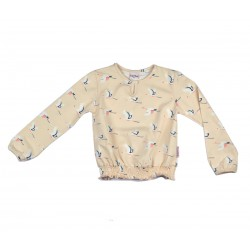 Baba - Blouse Pink Birds